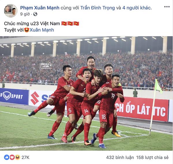 Dàn sao U23 đăng ảnh ăn mừng đánh bại Thái Lan nhận bão like - 9