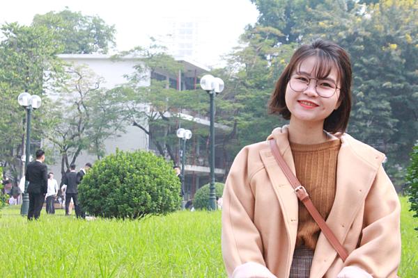 Cô giáo trẻ Minh Hiên.