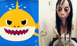Quái vật Momo trở lại, 'lẩn trốn' trong các video Baby Shark
