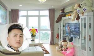 Căn hộ tầng 19 ngập gấu bông của Châu Khải Phong