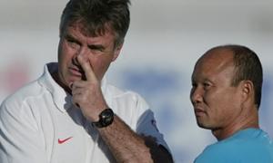 Park Hang-seo - Guus Hiddink: Đợi chờ cuộc 'đụng độ' của hai người quen cũ