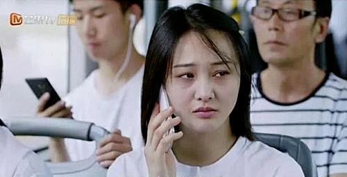 Gương mặt gây hoang mang của Trịnh Sảng trong phim.