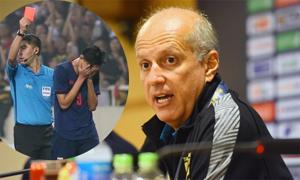HLV U23 Thái Lan buồn và không bào chữa cho cầu thủ đánh Đình Trọng