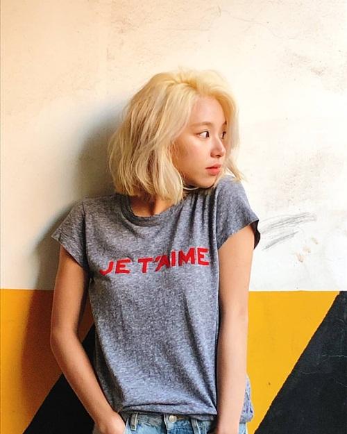 Chae Young (Twice) có thần thái chuyên nghiệp như người mẫu.