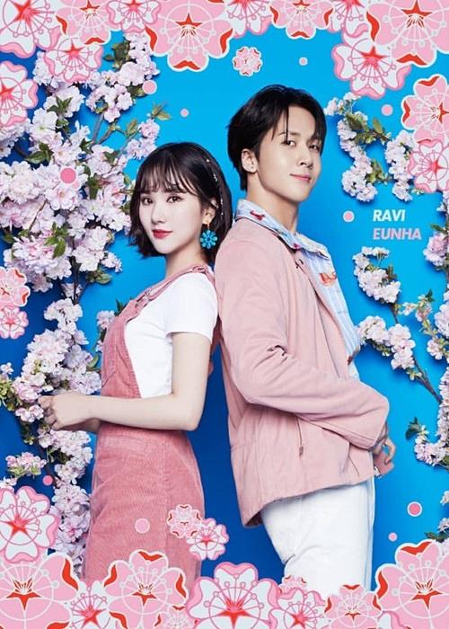 Eun Ha (G-Friend) và Ravi (VIXX) kết hợp thành cặp đẹp đôi trong một ca khúc quảng cáo.
