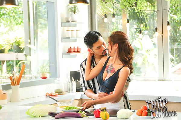 Cảnh quay hot của Nam Thư trong tập 3 web drama Thập Tứ cô nương.