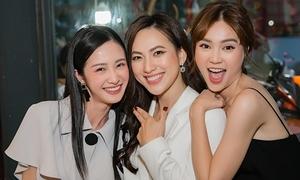 Jun Vũ 'chị chị em em' với Phương Anh Đào, Lan Ngọc