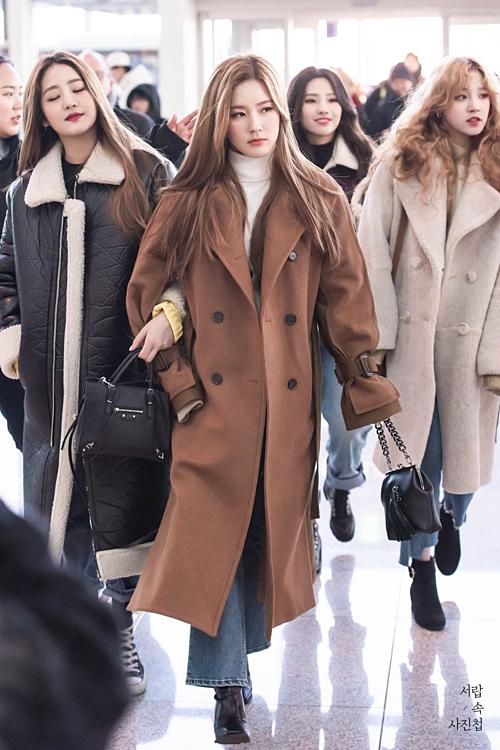 Thành viên (G)I-DLE cạnh tranh danh hiệu nữ thần thanh lịch với Mina (Twice) - 2