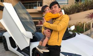 Cuộc sống nhung lụa của 'rich kid' 2 tuổi nhà Đan Trường