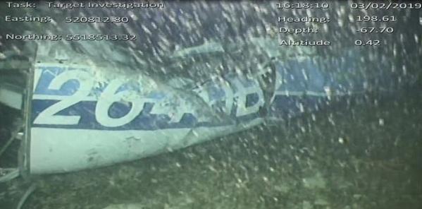 AAIB công bố hình ảnh chiếc máy bay xấu số chở cầu thủ Sala mất tích hôm 21/1.
