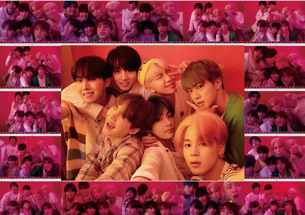 BTS tung thính xịn với hàng trăm ảnh concept album mới