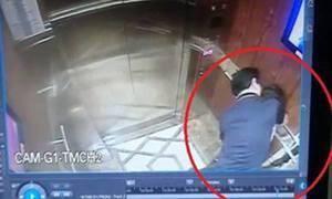 Người đàn ông hôn bé gái trong thang máy ở TP HCM