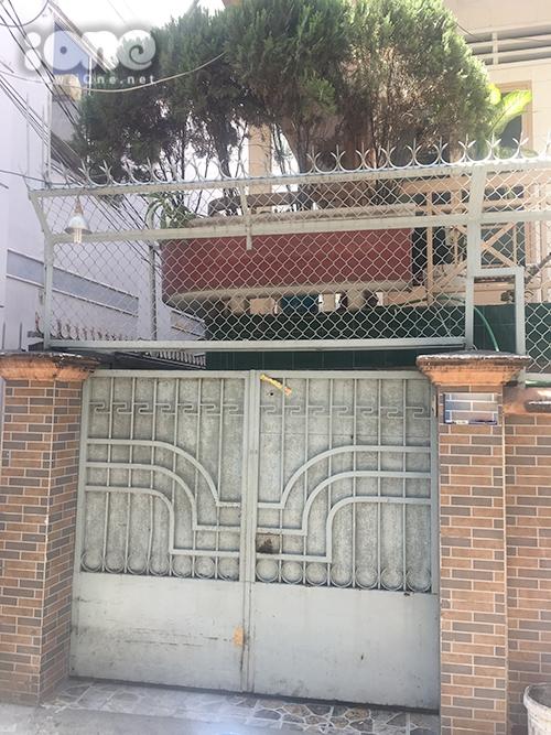 Căn nhà Anh Vũ sống cùng mẹ ở căn nhà trong con hẻm ở quận Bình Thạnh.