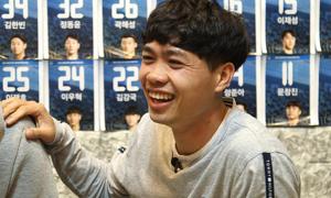 Công Phượng chiếm spotlight trên sóng truyền hình Hàn Quốc