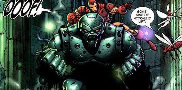 Robot Arsenal trong một tập truyện Marvel.