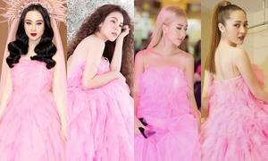 5 mỹ nhân Việt đụng độ một mẫu váy
