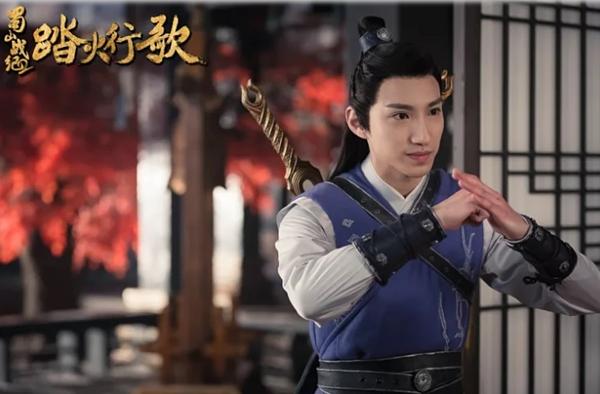 Nam diễn viên trong phim Thục Sơn Chiến Kỷ 2 được nhận xét có gương mặt giống Văn Hậu.