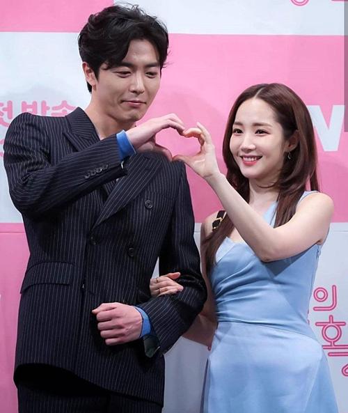 Kim Jae Wook vàPark Min Young