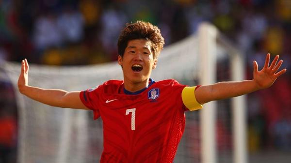 Huyền thoại bóng đá Hàn Quốc, Park Ji-sung.