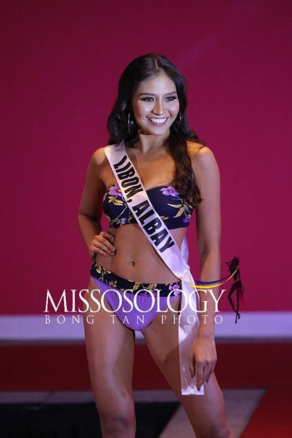 Gương mặt được nhận xét phù hợp đại diện nước nhà tham dự Miss International nhưng thí sinh này chỉ cao 1,65 m, sở hữu thân hình đồ sộ.