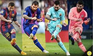 Messi là cầu thủ sút phạt xuất sắc mọi thời đại