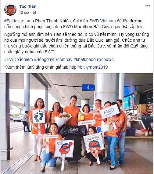 Loạt sao Việt ủng hộ Nhiên Everest chinh phục FWD Marathon Bắc Cực - 1