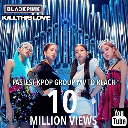 Black Pink soán ngôi BTS, phá kỷ lục 10 triệu view nhanh nhất lịch sử Kpop