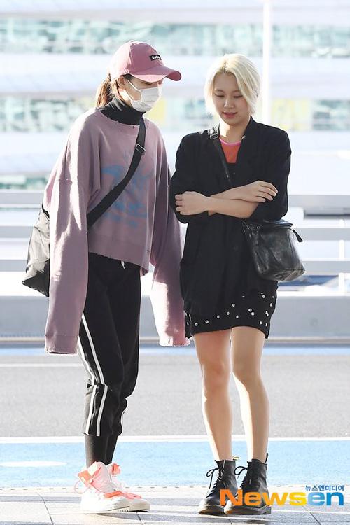 Sana khoe nhan sắc đỉnh cao, Momo bị dìm hàng ở sân bay - 3