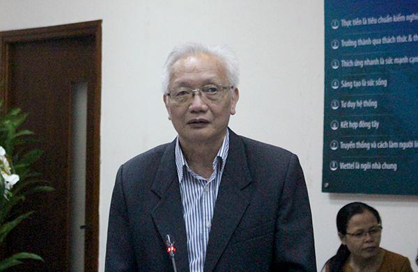 TS Nguyễn Tùng Lâm.