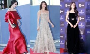 Những bộ váy ấn tượng của mỹ nhân Hàn trong lịch sử thảm đỏ Baeksang