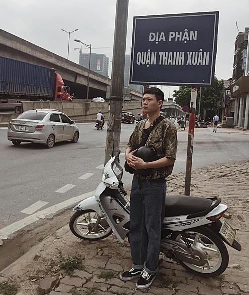 Nguyễn Sỹ Tuấn chủ nhân của bản nhạc chế Anh nhà ở Cầu Giấy