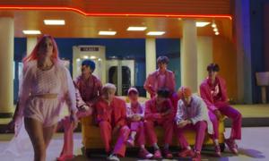 BTS tung teaser MV 'Boy with luv' - màn comeback kết hợp Halsey