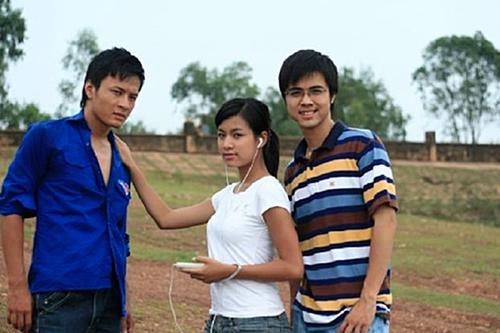 Hoàng Thùy Linh từng đóng cặp với Hồng Đăng trong Nhật ký Vàng Anh cách đây 12 năm.
