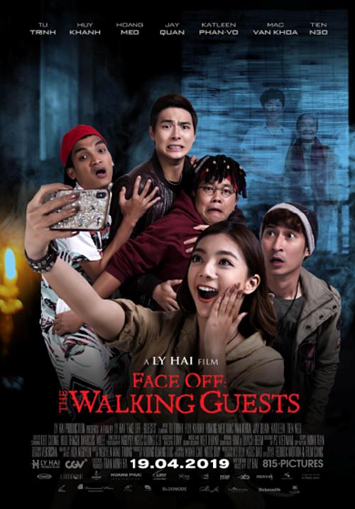 Poster chính thức của phim tại Mỹ với tựa Tiếng Anh – Face Off: The Walking Guests