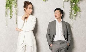 Mặc suit 'chuẩn men' chụp ảnh cưới - mốt mới của các mỹ nhân Việt