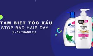 Shopee giảm giá đến 49% sản phẩm chăm sóc tóc chính hãng
