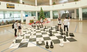 Ngôi trường chăm chút không gian riêng của sinh viên