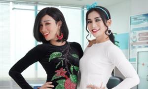 Hải Triều, BB Trần đóng cặp chị em y tá trong phim hài
