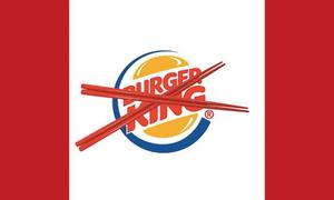 Burger King 'tụt sao' trầm trọng sau quảng cáo 'ăn burger bằng đũa'