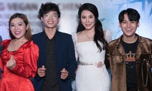 Dàn trò cưng từng 'gây bão' X-Factor mừng Hồ Quỳnh Hương làm bà chủ