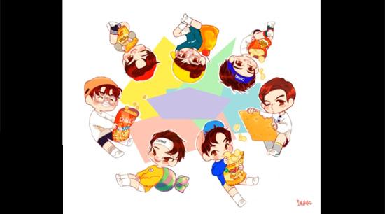 Fan cứng đoán nhóm nhạc Kpop qua hình chibi (2) - 2