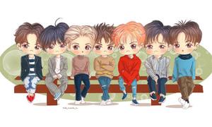 Fan cứng đoán nhóm nhạc Kpop qua hình chibi (2)