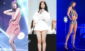 6 sao nữ có đôi chân dài đáng mơ ước nhất Kpop