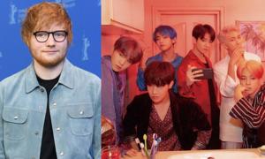 BTS gây bất ngờ khi tiết lộ Ed Sheeran tham gia sản xuất album mới