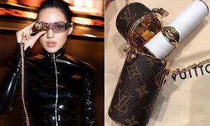 Khánh Linh The Face chi hơn 30 triệu đồng để sắm túi đựng son môi
