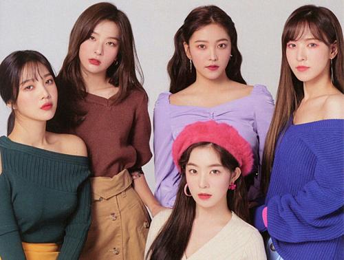 Red Velvet ở ẩn khá lâu nhưng vẫn duy trì sức hot ở top 10. Nhóm xếp vị trí thứ 6 với