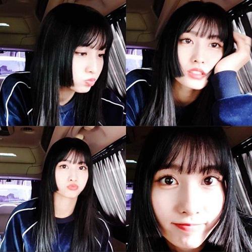Để chuẩn bị cho đợt comeback, Momo cắt kiểu tóc Hime đậm chất Nhật Bản. Nữ ca sĩ khẳng định đây là quyết định của bản thân và rất thích style tóc mới bất chấp những ý kiến trái chiều.