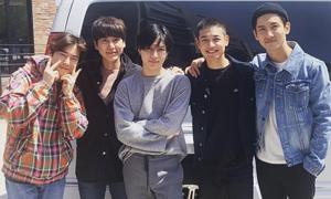 Instagram sao Hàn 15/4