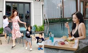Hồ Ngọc Hà về quê, Jun Vũ nghỉ dưỡng sang chảnh