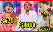 Bóc giá trang phục trong MV 'Boy With Luv' của BTS